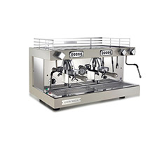 Alusteel For Hotel, Restaurant, kitchen Equipment - Espresso machine/ANDROMEDA 2 GROUP La Nova Era