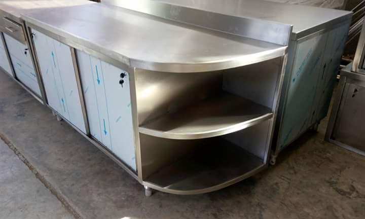 Alusteel For Hotel, Restaurant, kitchen Equipment - CUPBOARDS - NEUTRAL