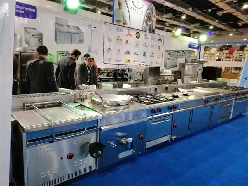 Alusteel For Hotel, Restaurant, kitchen Equipment - Alusteel for restaurants equipment